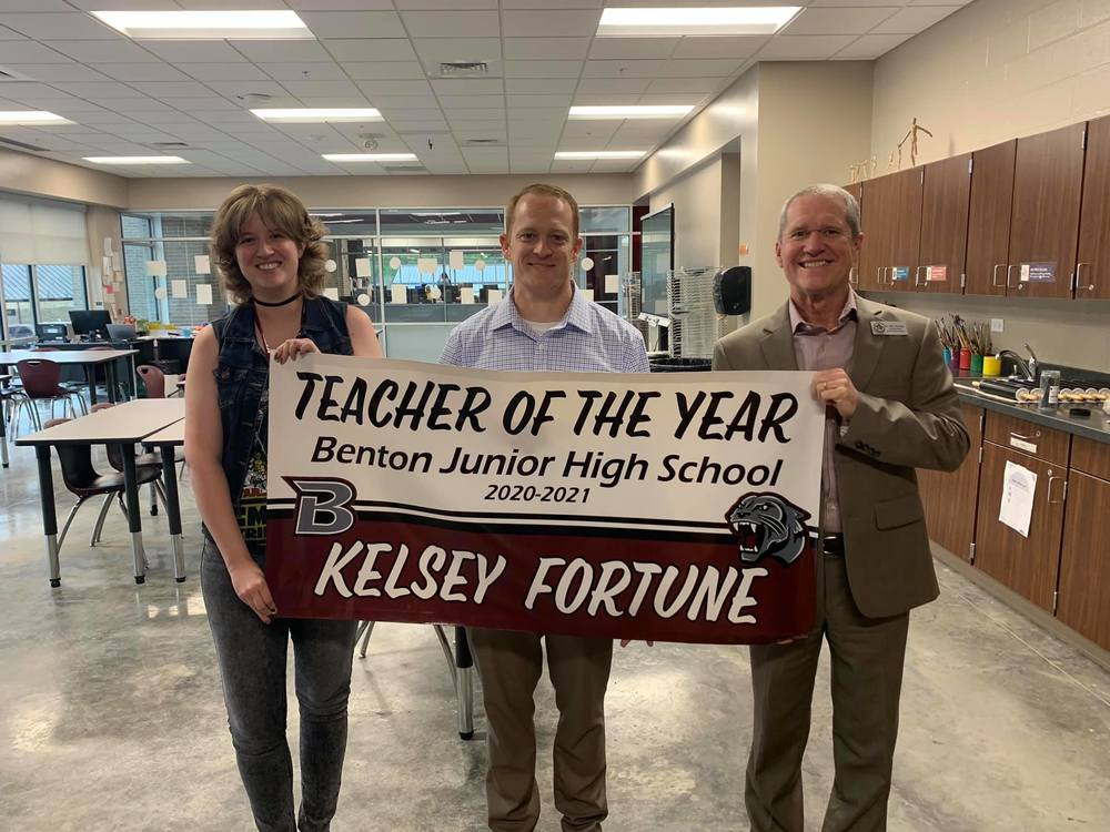 Teacher of the Year: Kelsey Fortune
