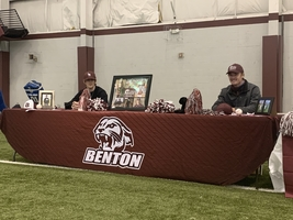 2 Benton Baseball Players Sign Letter of Intent