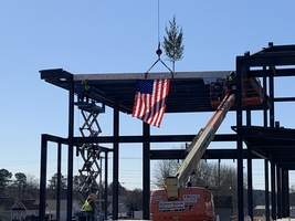 9th Grade Academy Topping Ceremony