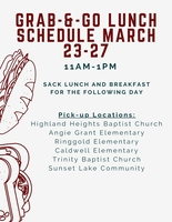 FREE Lunches for BPS Students Over Spring Break